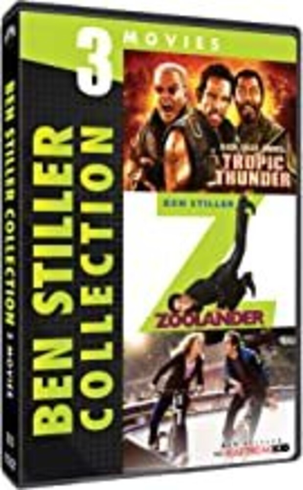 Ben Stiller 3-Movie Collection - Ben Stiller 3-Movie Collection