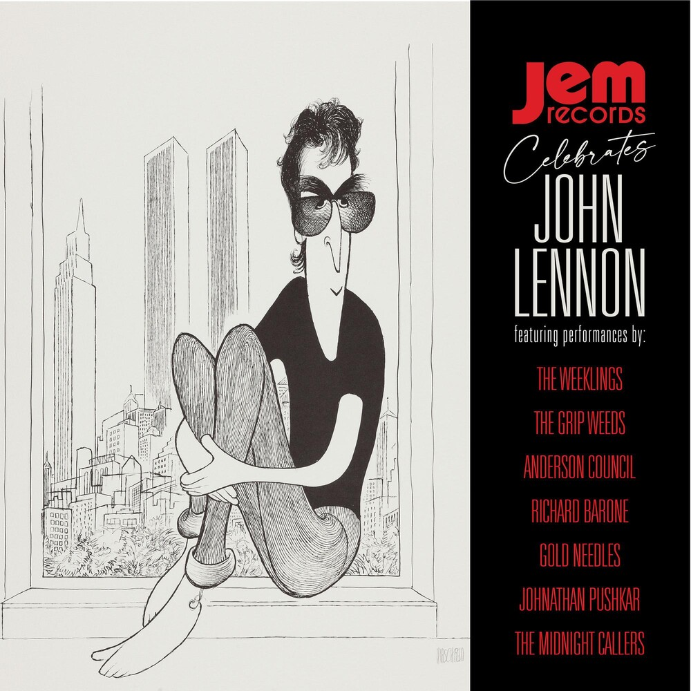 Jem Records Celebrates John Lennon / Var - JEM RECORDS CELEBRATES JOHN LENNON