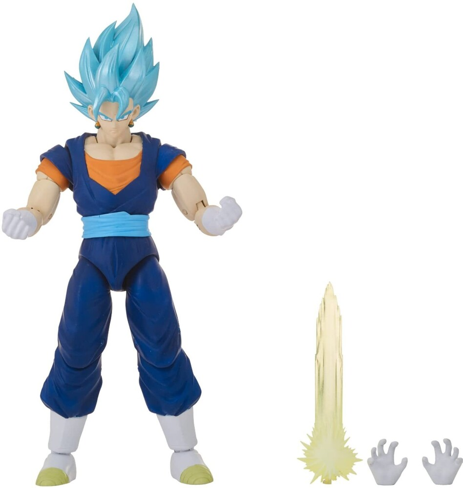 "Dragonball Super Dragon Stars - Bandai America - DragonBall Super Dragon Stars Super Saiyan Blue Vegito 6.5"" Action Figure"