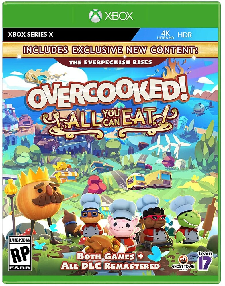 Xbx Overcooked! All You Can Eat - Xbx Overcooked! All You Can Eat