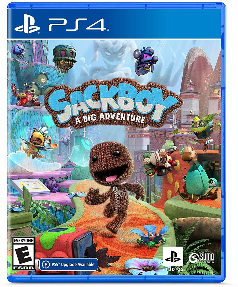 Ps4 Sackboy: A Big Adventure - Sackboy: A Big Adventure for PlayStation 4