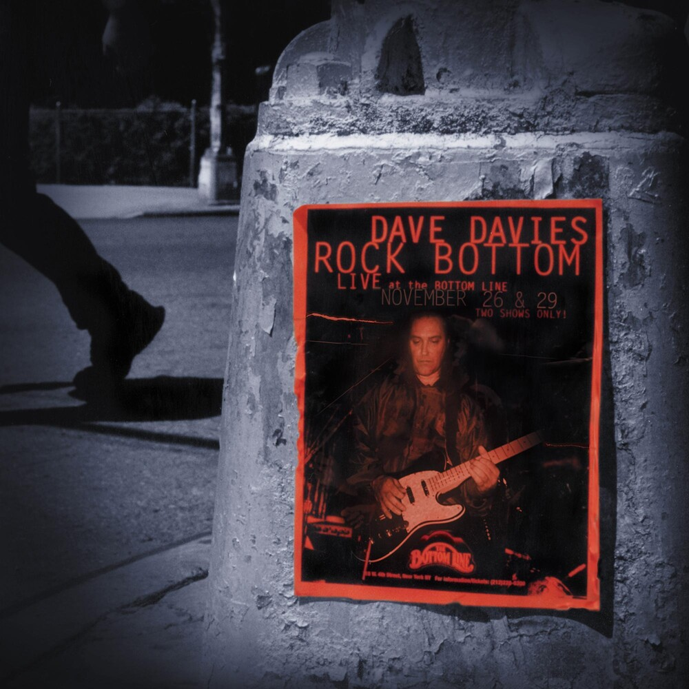 Dave Davies - Rock Bottom: Live At The Bottom Line (Dlx) (Ltd)