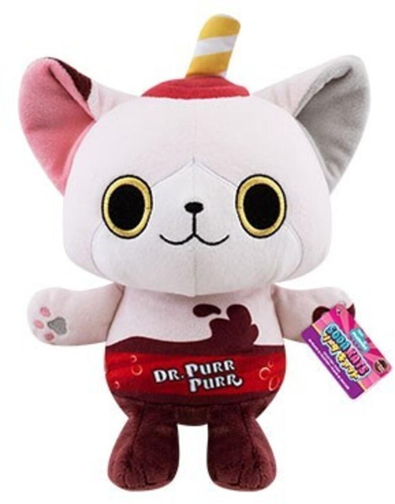 """Funko Paka Paka Plush: - FUNKO PAKA PAKA PLUSH: Soda Kat- Dr. Purr Purr 7"""""""