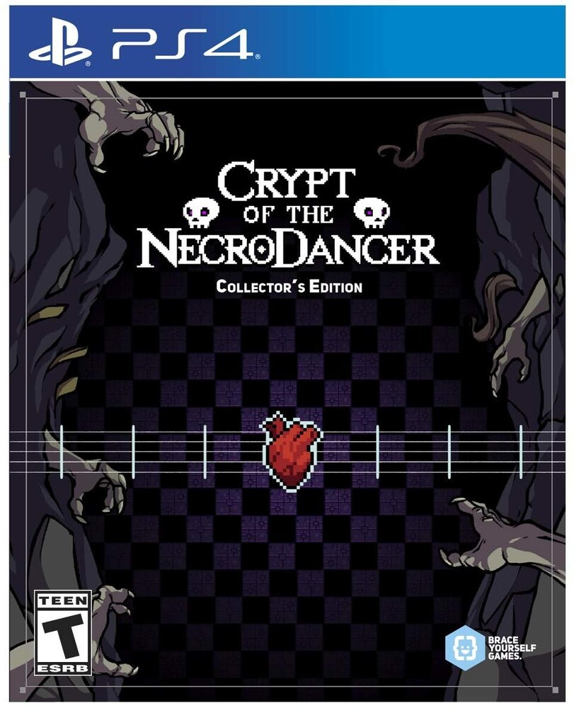 Ps4 Crypt of Necrodancer Collector's Edition - Ps4 Crypt Of Necrodancer Collector's Edition