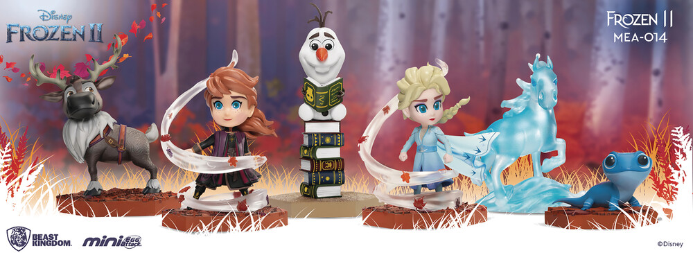 Beast Kingdom - Beast Kingdom - Frozen II MEA-014 6pc Figure Set