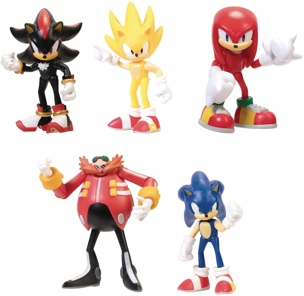Jakks Pacific - Jakks Pacific - Sonic The Hedgehog 2.5 Action Figure Wave 2 Assortment(Net)