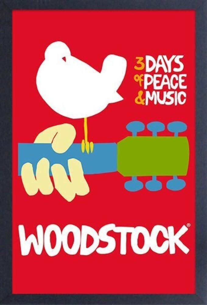 Woodstock Poster 11X17 Framed Print with Gel-Coat - Woodstock - Poster 11X17 Framed Print With Gel-Coat