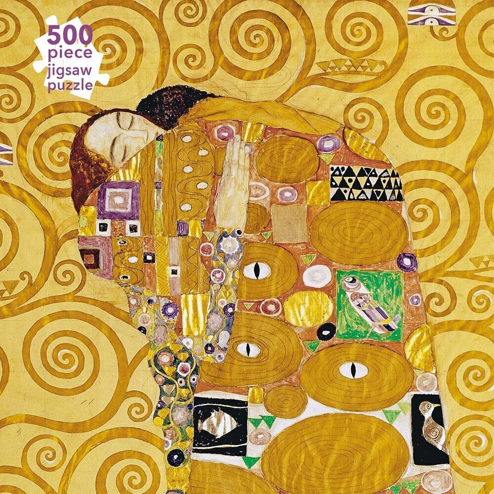 Flame Tree Studio - Gustav Klimt Stoclet Frieze 500 Piece Jigsaw