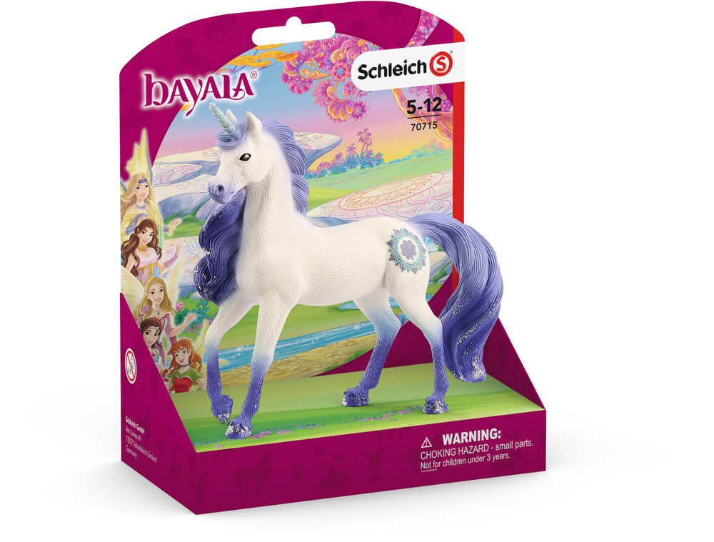 Schleich - Schleich Mandala Unicorn, Stallion