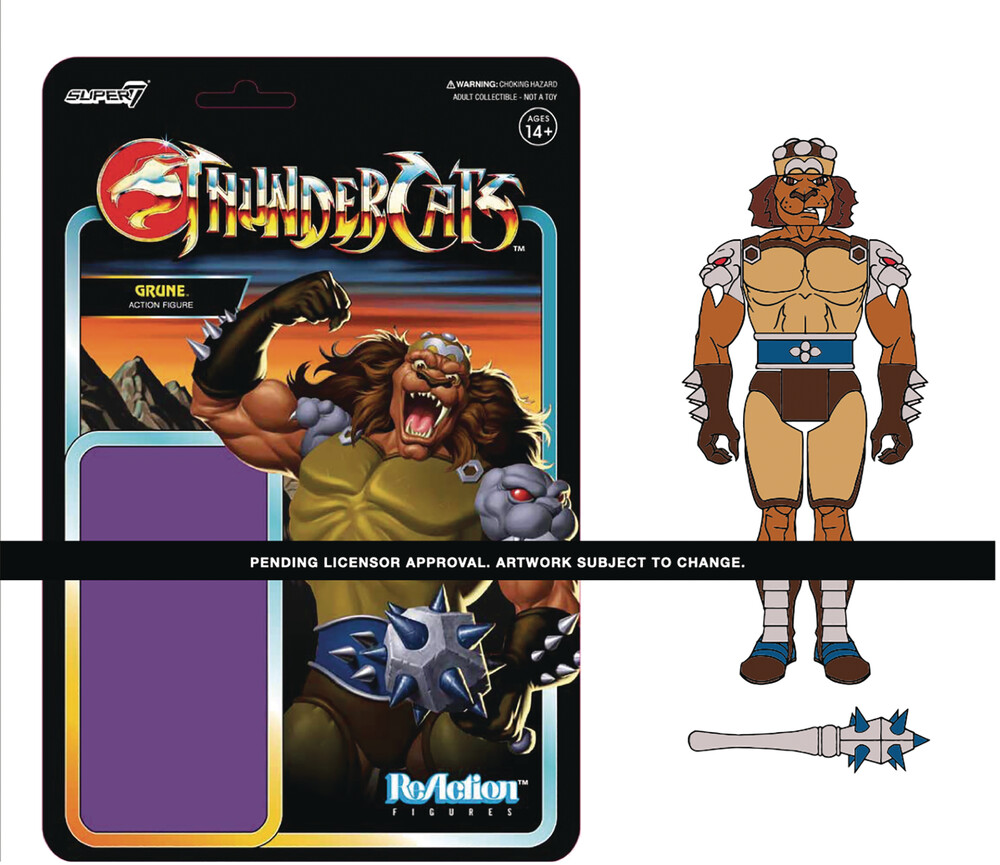 Thundercats Reaction Wave 2 - Grune the Destroyer - Super7 - Thundercats ReAction Wave 2 - Grune The Destroyer