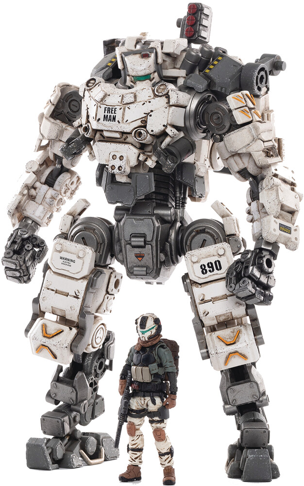 Dark Source Trading - Dark Source Trading - Joy Toy Steel Bone Classic Armor Mecha White1/25 Figure (Net)