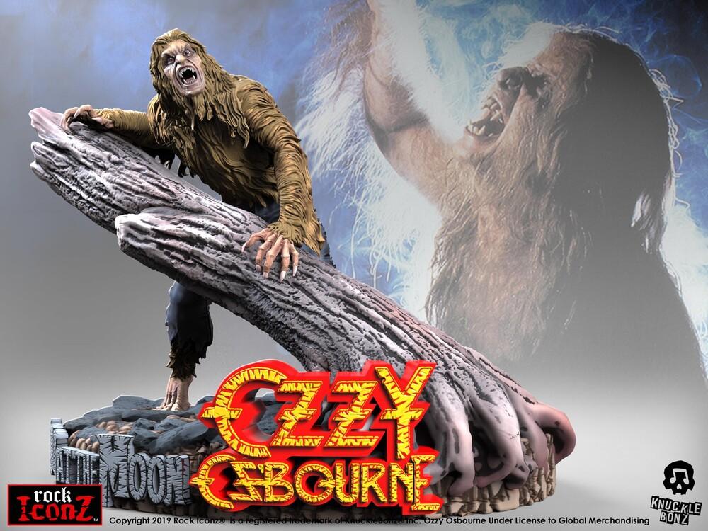 Knucklebonz - Knucklebonz - Ozzy Osbourne Bark at the Moon Rock Iconz Statue