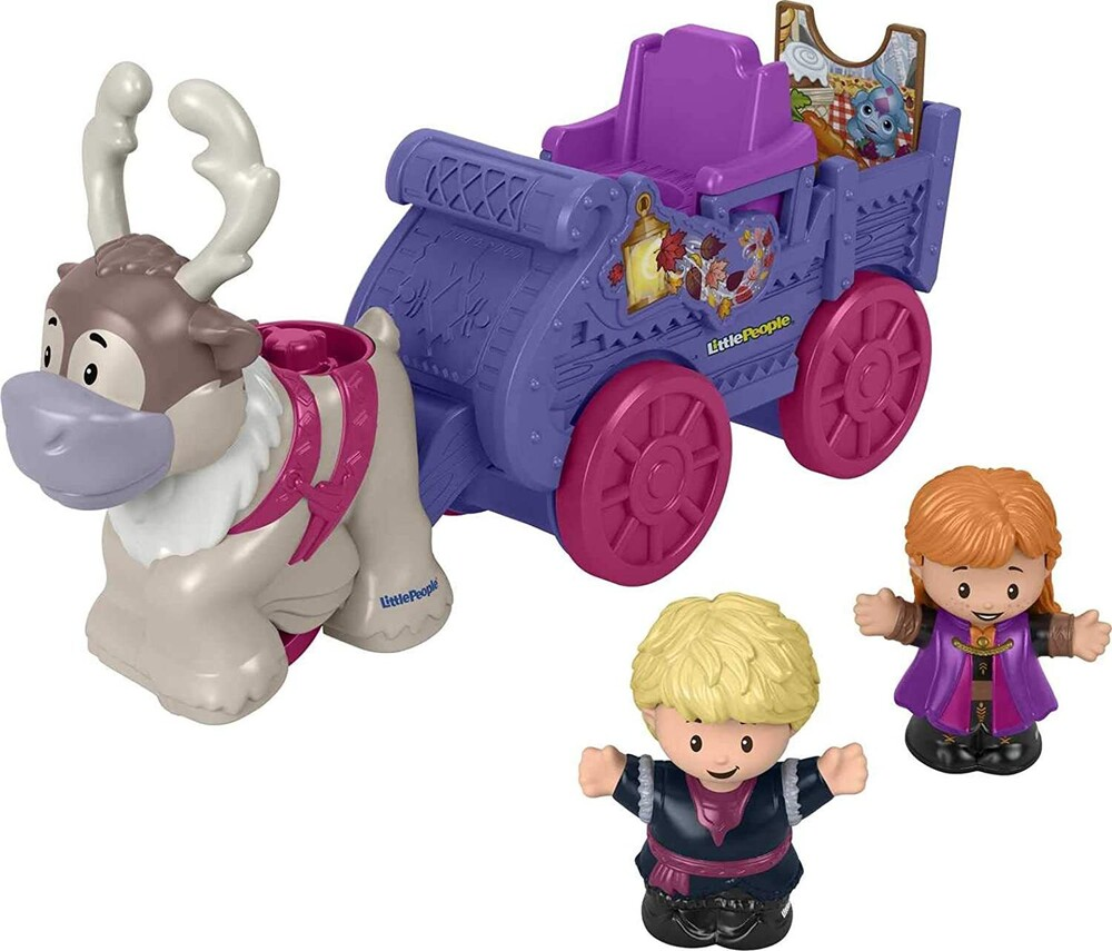 - Fisher Price - Little People Frozen II Wagon (Disney)