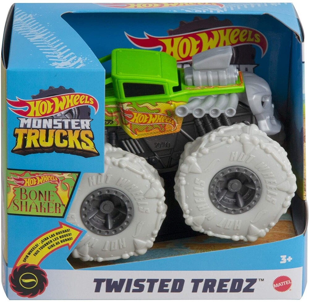 - Mattel - Hot Wheels Monster Trucks 1:43 Bone Shaker