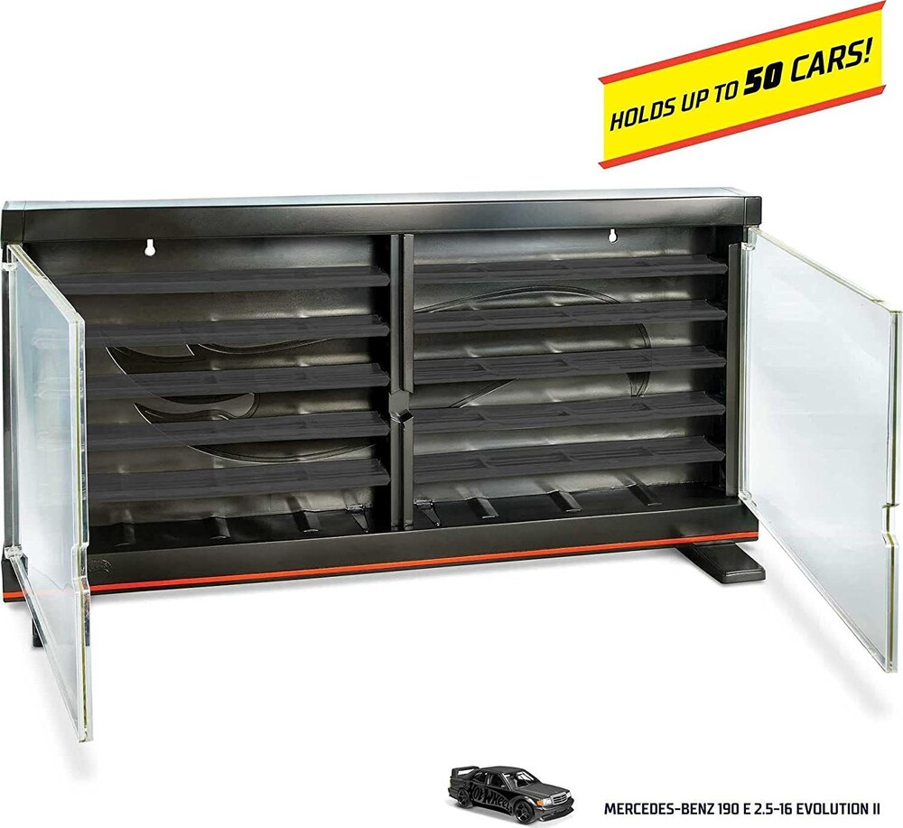 Hot Wheels - Hot Wheels Collector Display Case With Vehicle