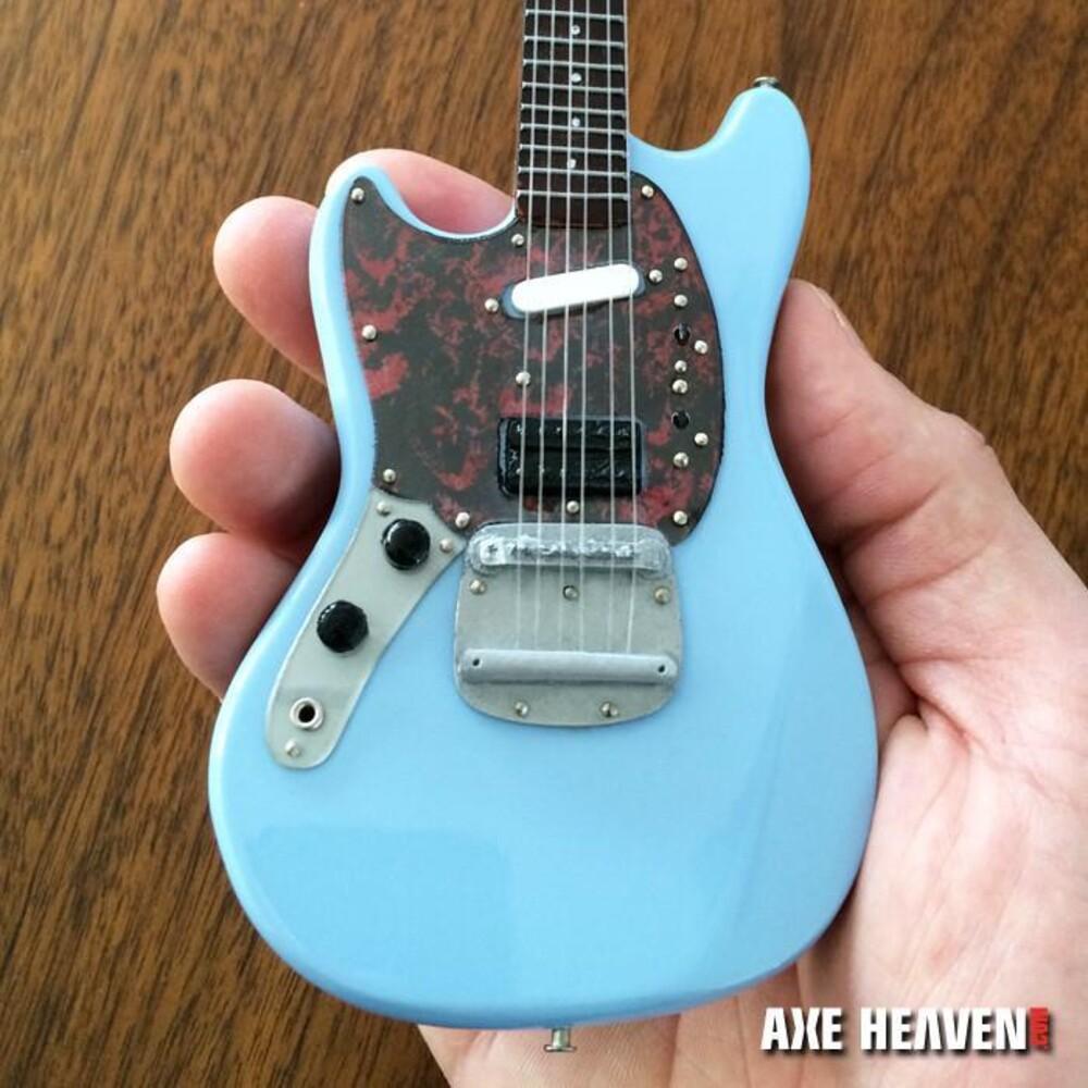 - Kurt Cobain Nirvana Fender Mustang Mini Guitar