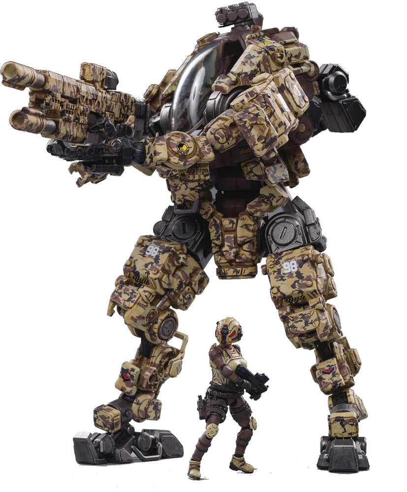 - Joy Toy Steel Bone H03 Sniper Desert Camo Mecha 1/