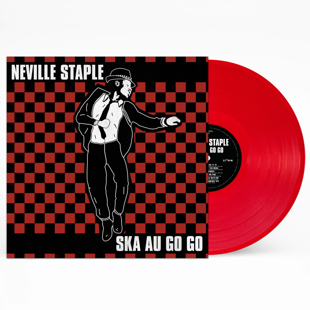 Neville Staple - Ska Au Go Go (Red Or Clear Vinyl) [Limited Edition] [Reissue]