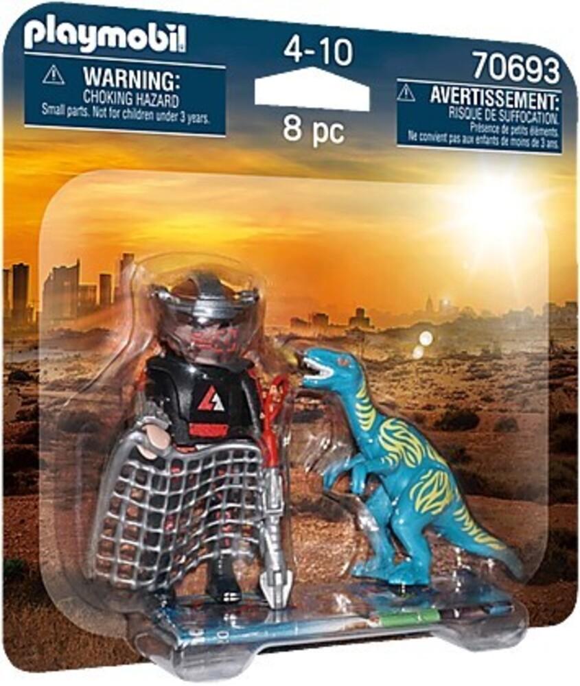 - Dinos Duopack Velociraptor With Dino Catcher (Fig)