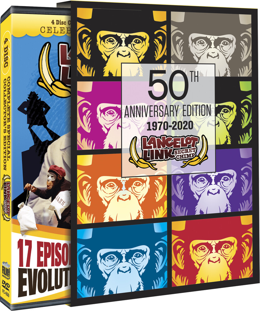 - Lancelot Link Secret Chimp (4pc) (W/Dvd) / (4pk)