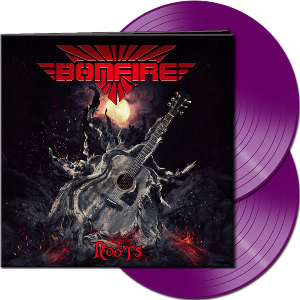 Bonfire - Roots (Purple Vinyl) [Colored Vinyl] (Gate) (Purp)