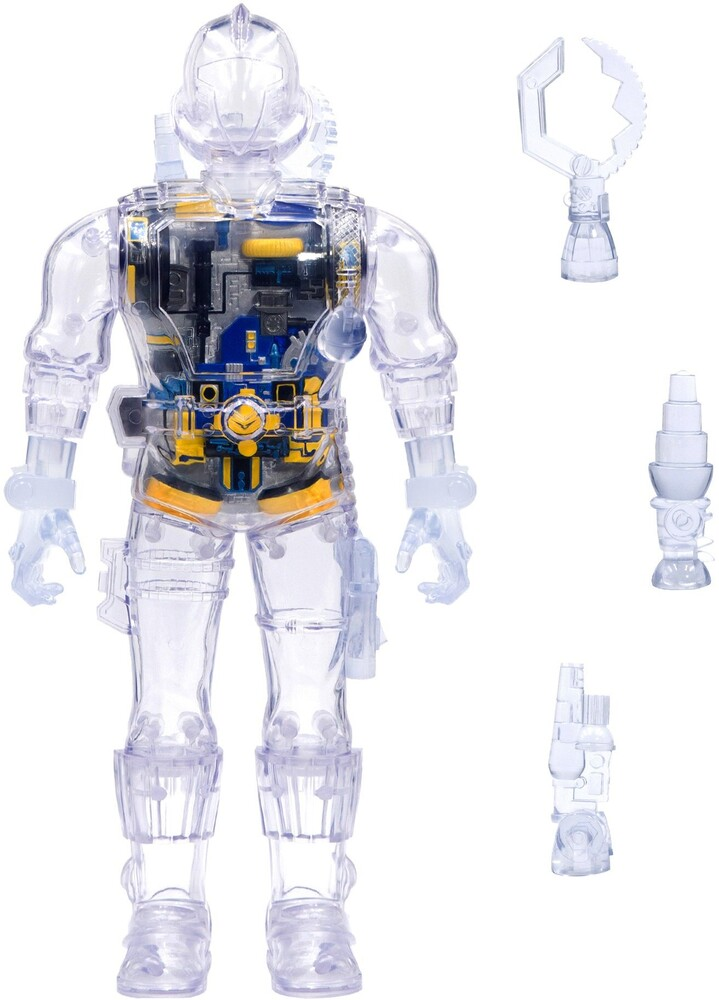 - G.I. Joe Super Cyborg -Cobra B.A.T. (Clear) (Afig)