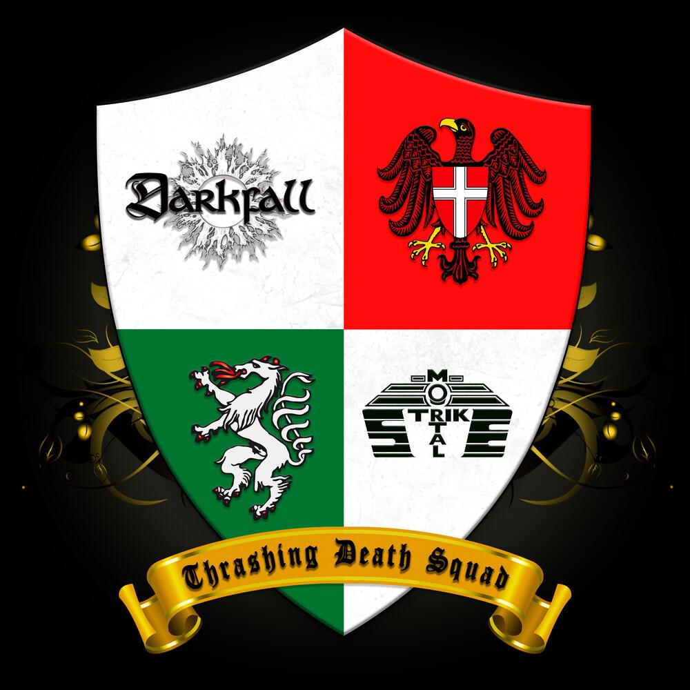 Darkfall / Mortal Strike - Thrashing Death Squad (Split) (Uk)