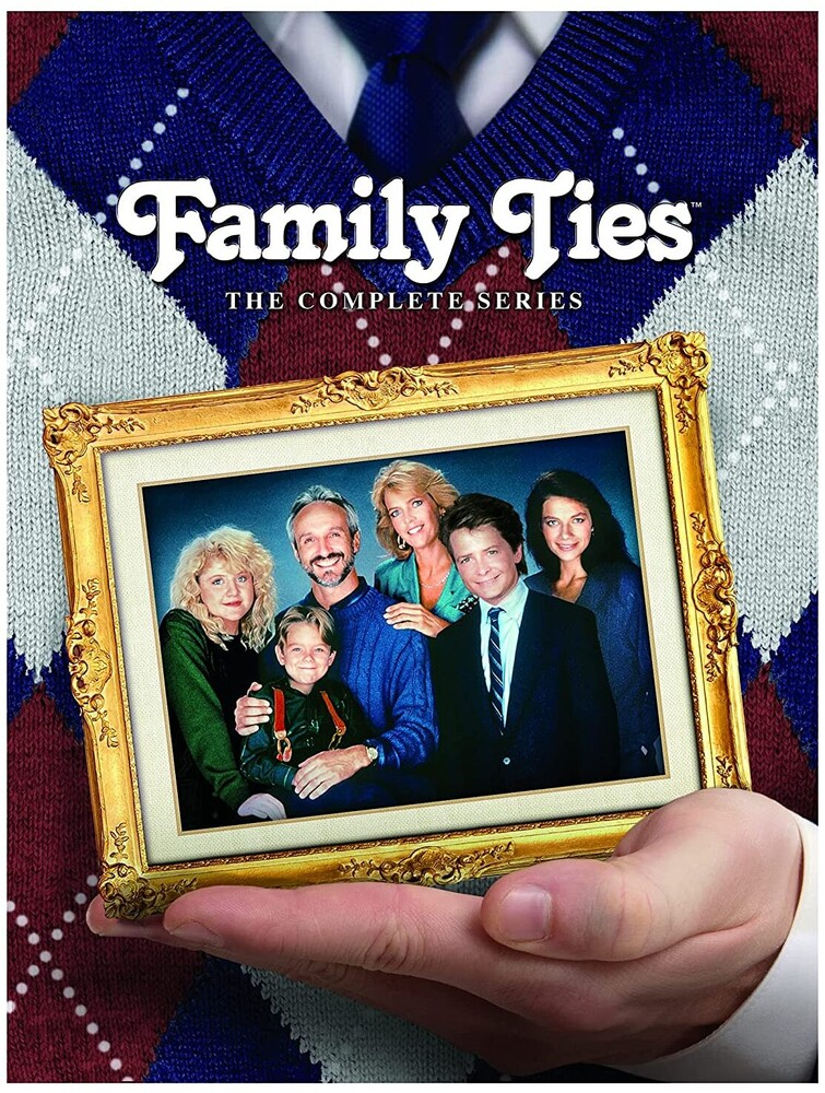 - Family Ties: Complete Series (28pc) / (Box Full)