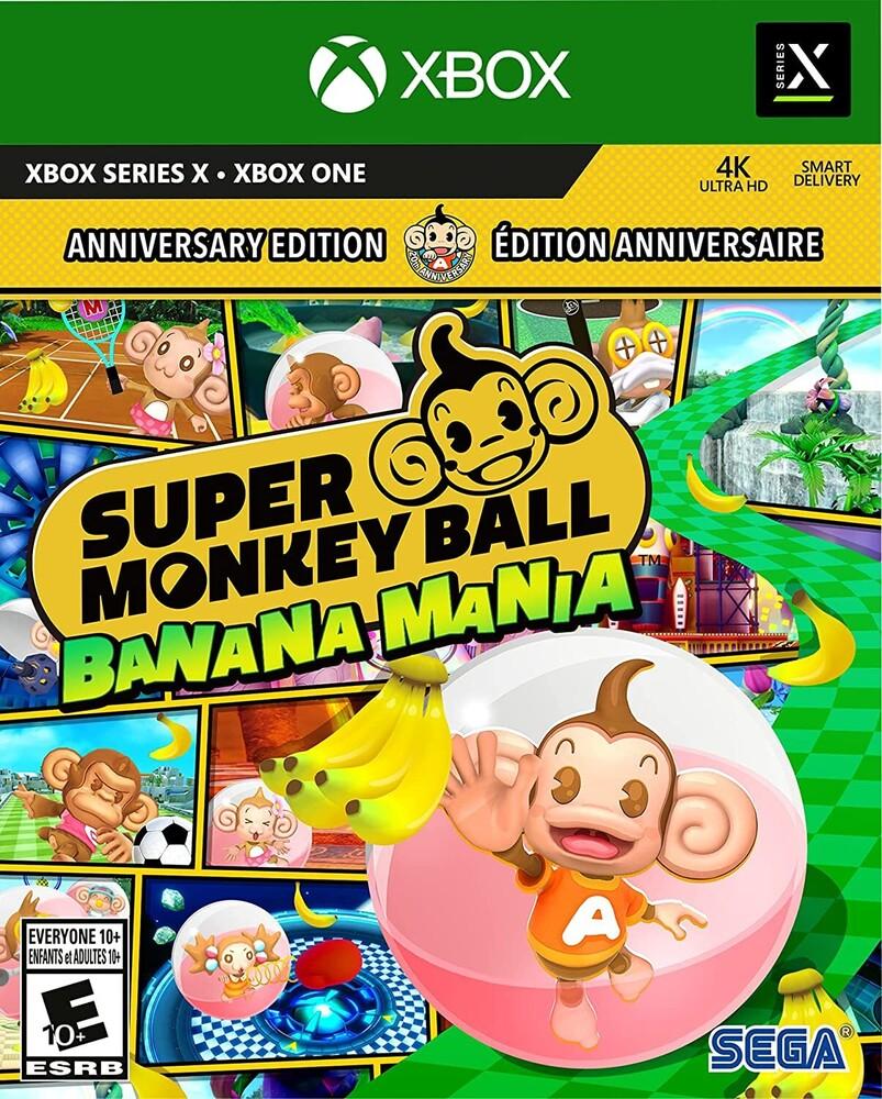 Xb1/Xbx Super Monkey Ball Banana Mania Anniversary - Super Monkey Ball Banana Mania ANNIVERSARY LAUNCH EDITION for Xbox One and Xbox Series X