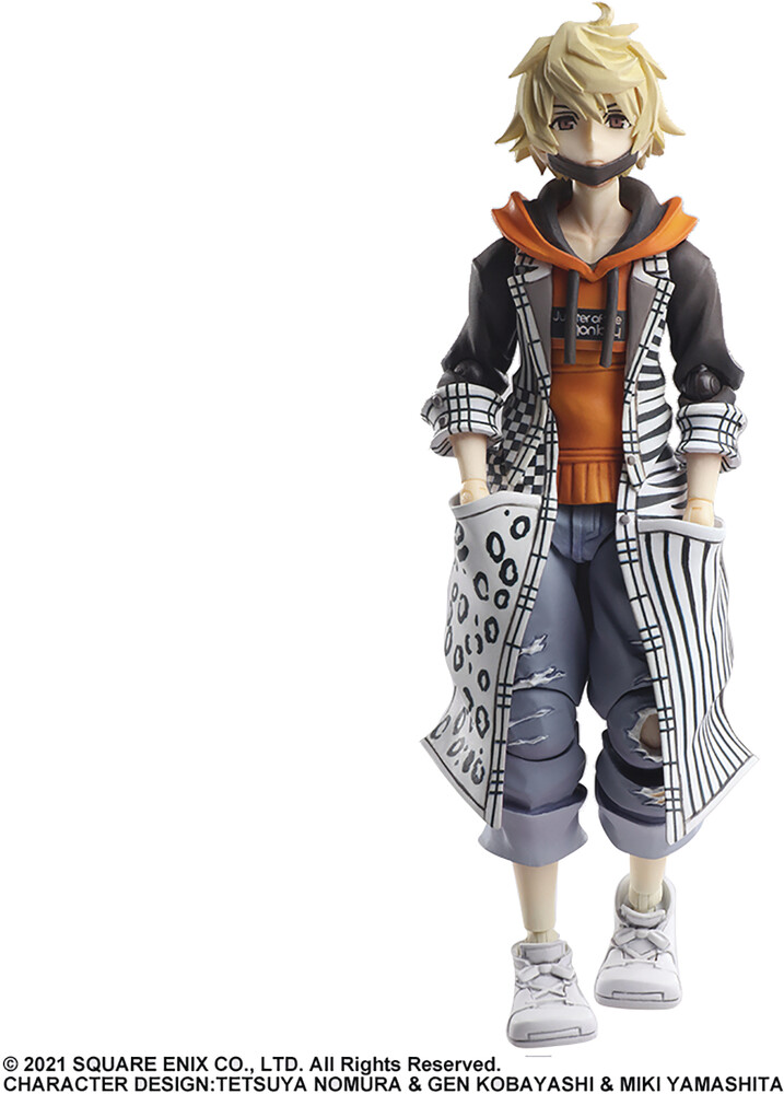 Square Enix - Twewy World Ends W/You The Anime Bring Arts Rindo