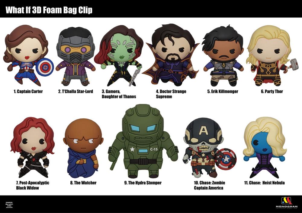 Marvel Avengers What If (M) 3D Foam Bag Clip - Marvel Avengers What If (M) 3d Foam Bag Clip (Key)
