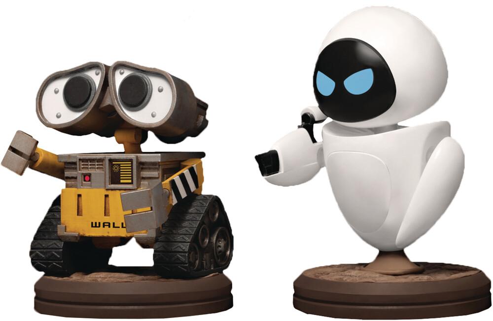 Beast Kingdom - Wall-E Mea-029 Wall-E & Eve Figure 2pk (Clcb)