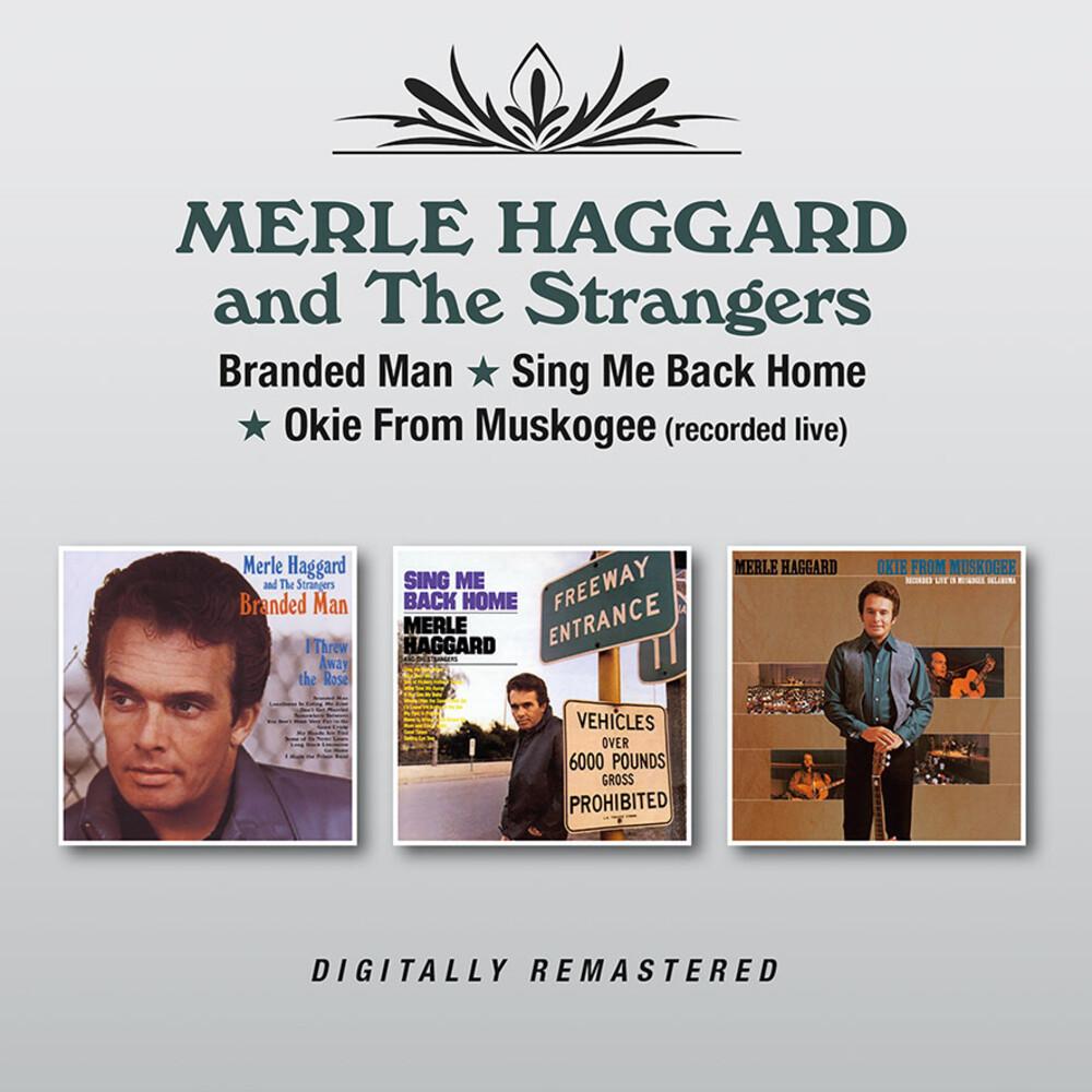 Merle Haggard  & The Strangers - Branded Man / Sing Me Back Home / Okie From (Uk)
