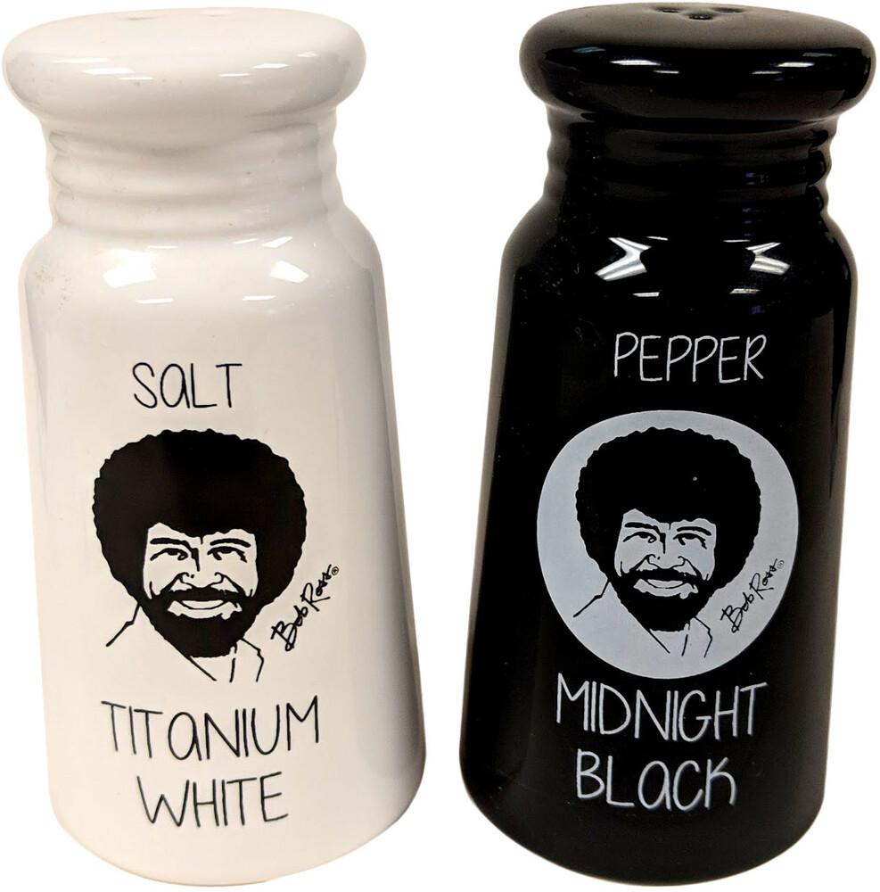 Bob Ross Salt and Pepper Shakers - Bob Ross Salt and Pepper Shakers