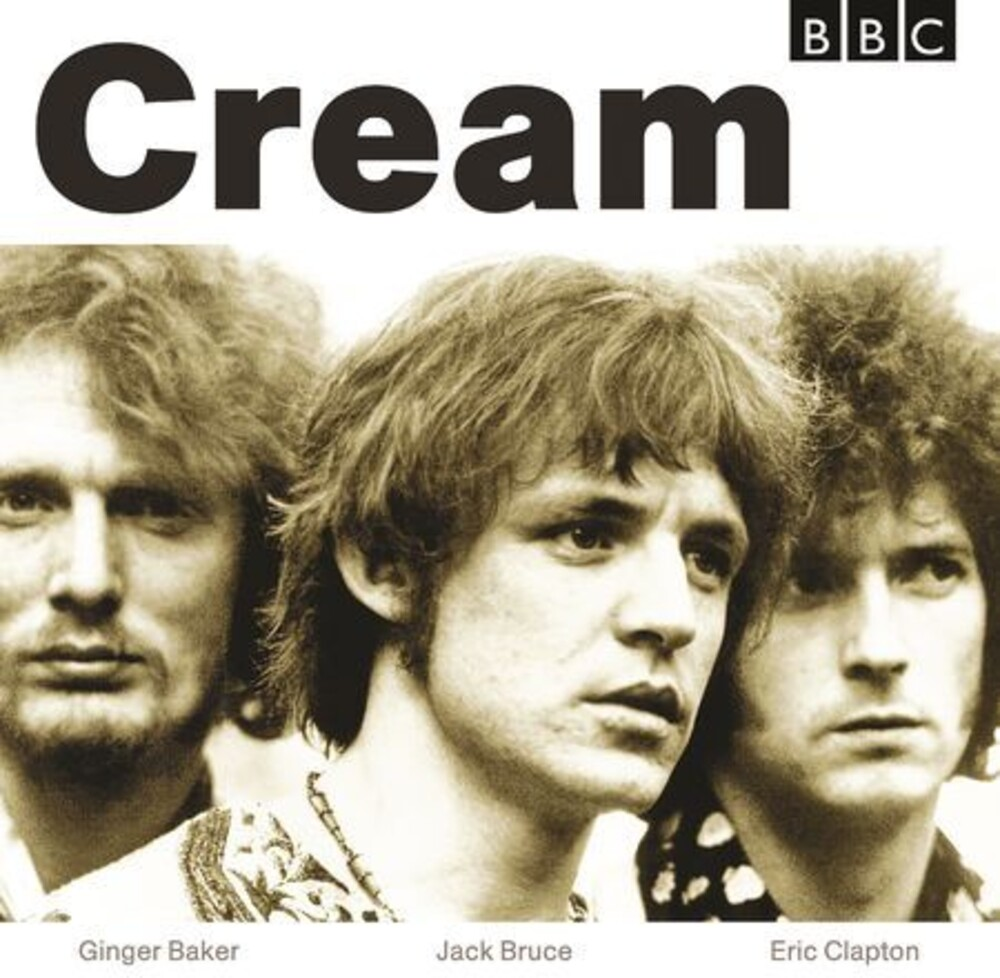 Cream - BBC Sessions [Limited Edition White/Opaque Beige 2LP]