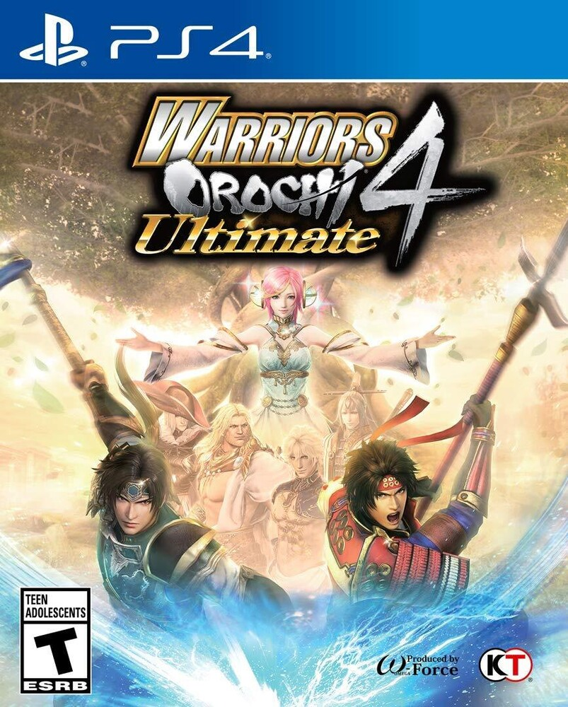 Ps4 Warriors Orochi 4 Ultimate - WARRIORS OROCHI 4 Ultimate for PlayStation 4