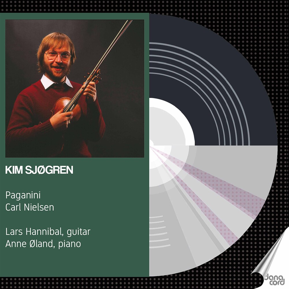 Kim Sjøgren - Sjogren Plays Paganini Nielsen