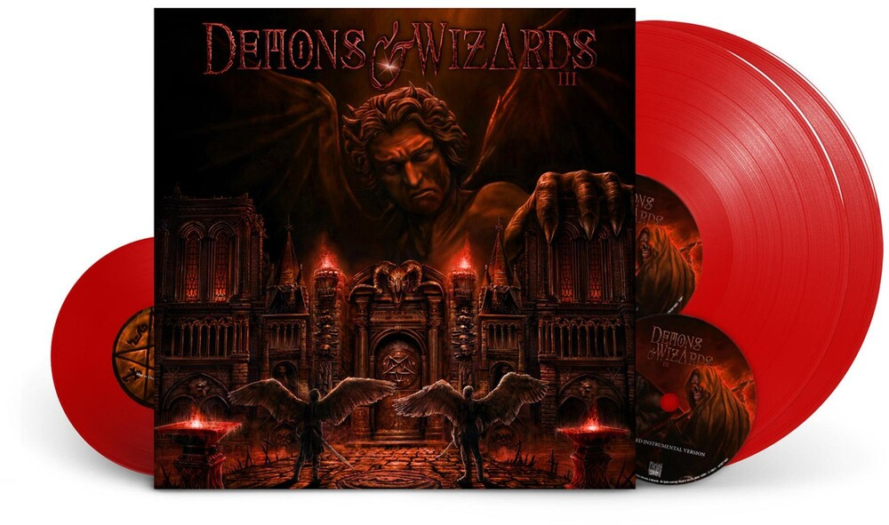 Demons & Wizards - III [Limited Edition Super Deluxe Red 2LP/2CD/7 Inch]