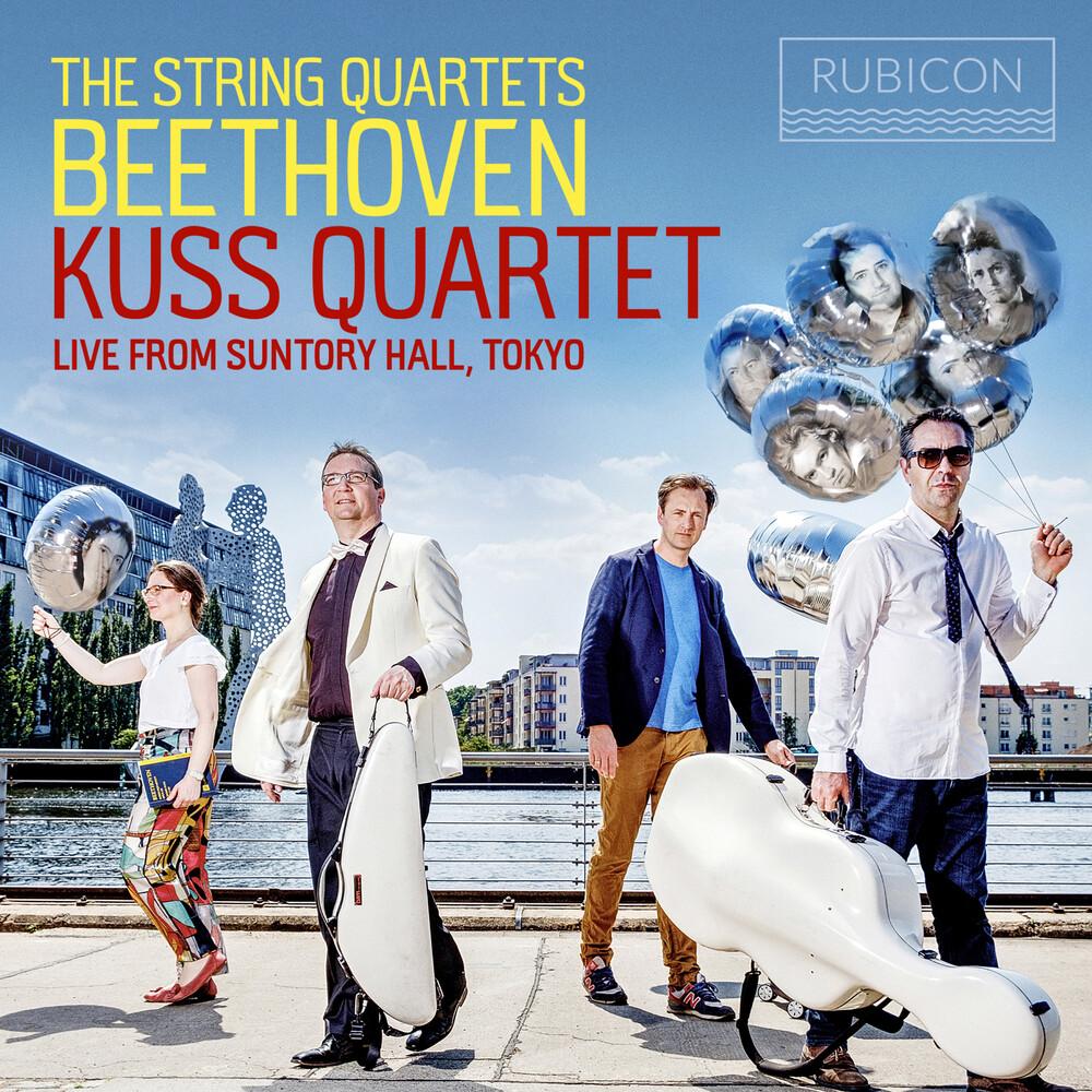 Kuss Quartet - Beethoven: The String Quartets
