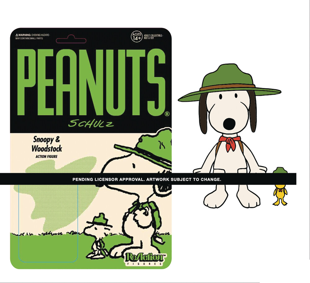 Peanuts Reaction Wave 3 - Beagle Scout Snoopy - Peanuts ReAction Wave 3 - Beagle Scout Snoopy