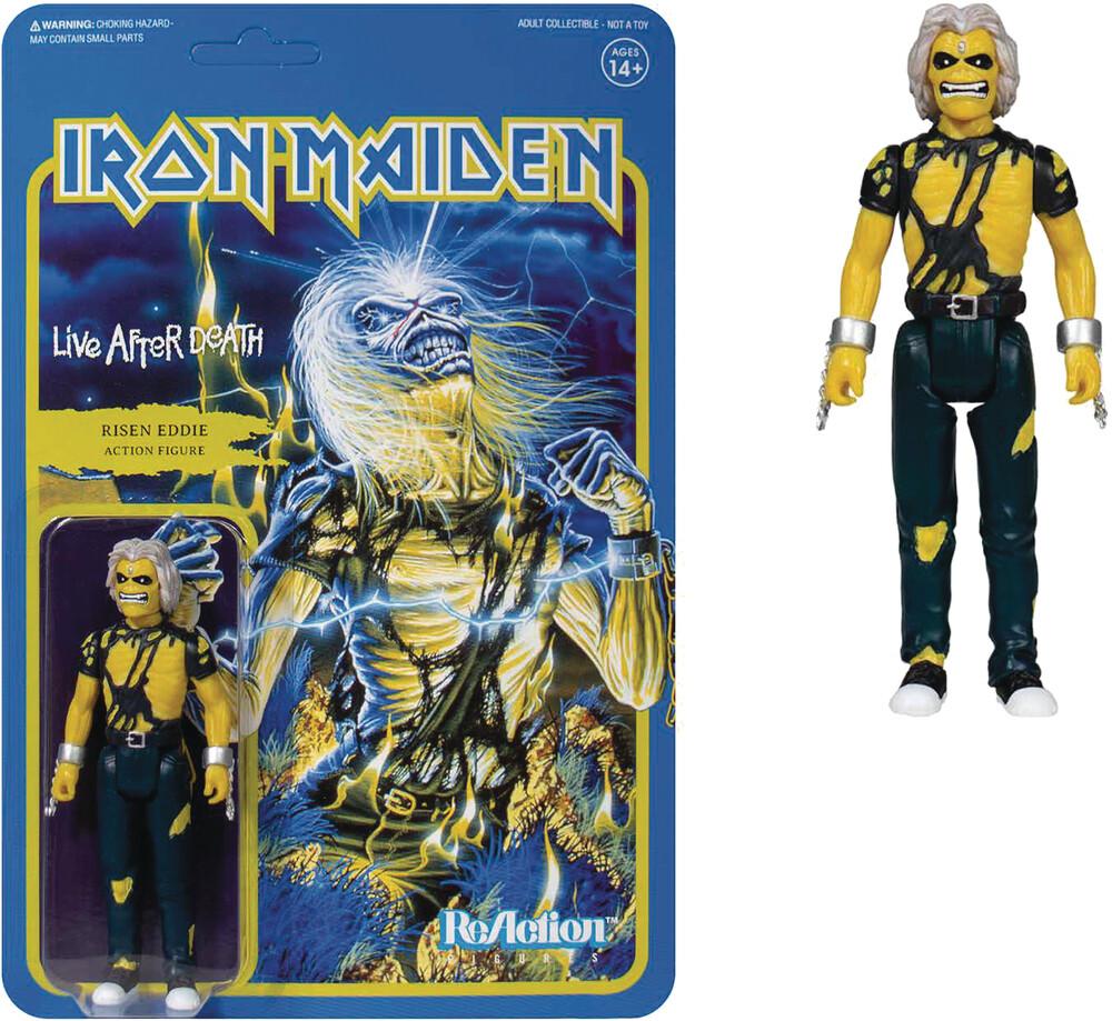 Iron Maiden - Iron Maiden ReAction Figure - Live After Death (Album Art)