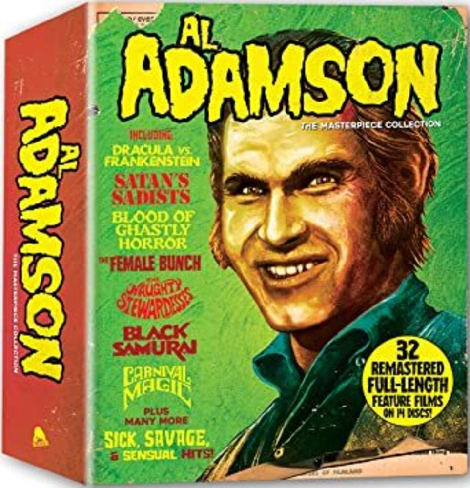 Al Adamson: Masterpiece Collection Box Set - Al Adamson: Masterpiece Collection Box Set (14pc)