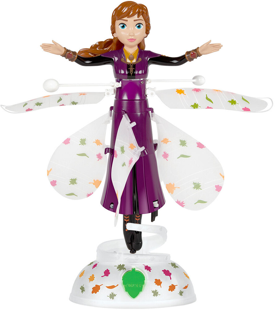 Flying Figure - Disney Frozen Anna Motion Sensing 7.5 Inch IR UFO Helicopter (Disney, Frozen)