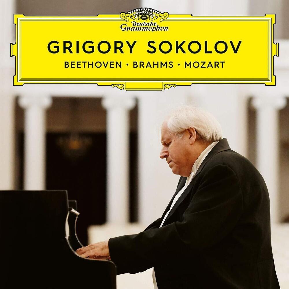 Grigory Sokolov - Beethoven Brahms Mozart [2 CD/DVD]