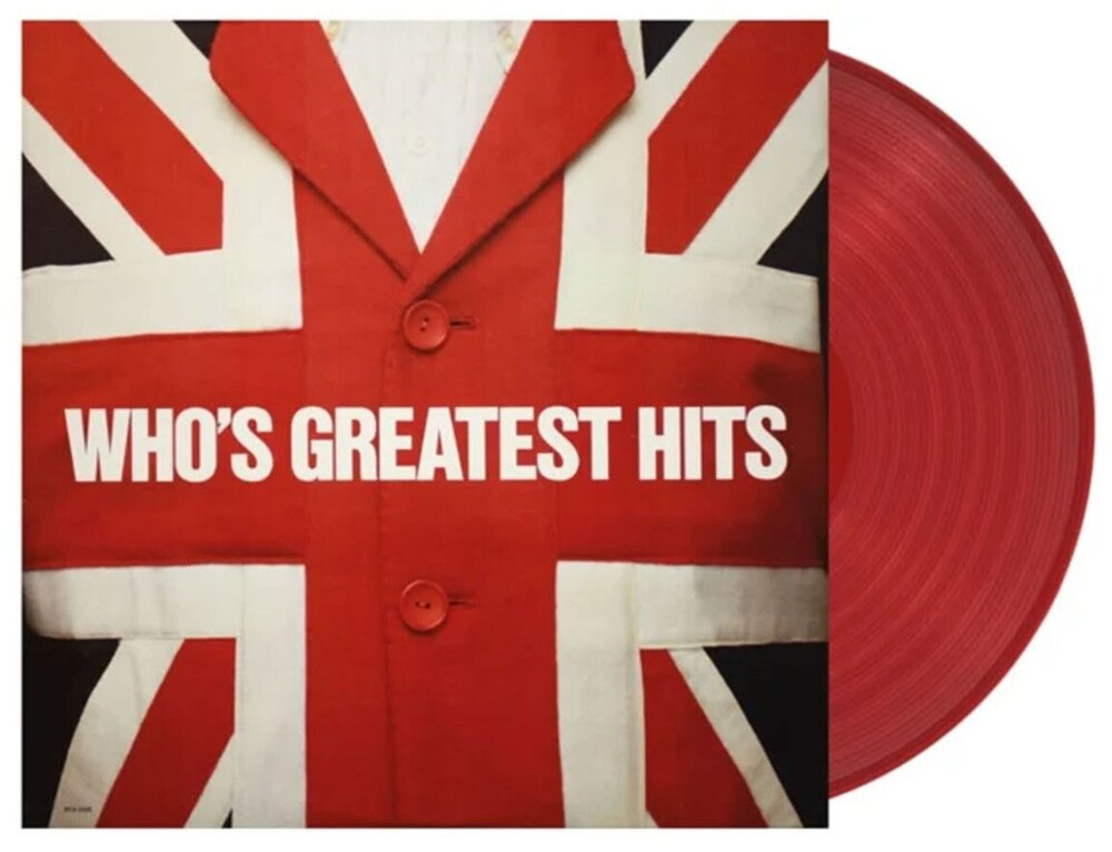 The Who - Greatest Hits [Import Limited Edition Red LP]