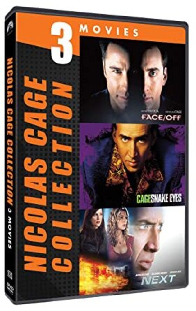 Nicholas Cage 3-Movie Collection - Nicholas Cage 3-Movie Collection (3pc) / (3pk Ac3)
