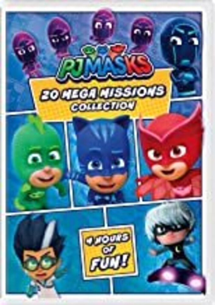 Pj Masks: 20 Mega Missions Collection - Pj Masks: 20 Mega Missions Collection (2pc)