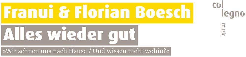 Brahms / Boesch / Franui - Alles Wieder Gut