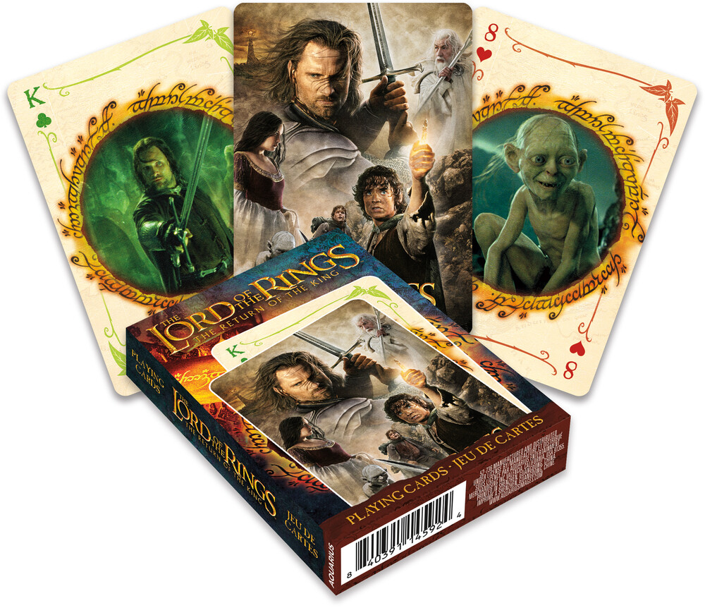 Lord of the Rings Return of the King Playing Cards - Lord Of The Rings Return Of The King Playing Cards Deck