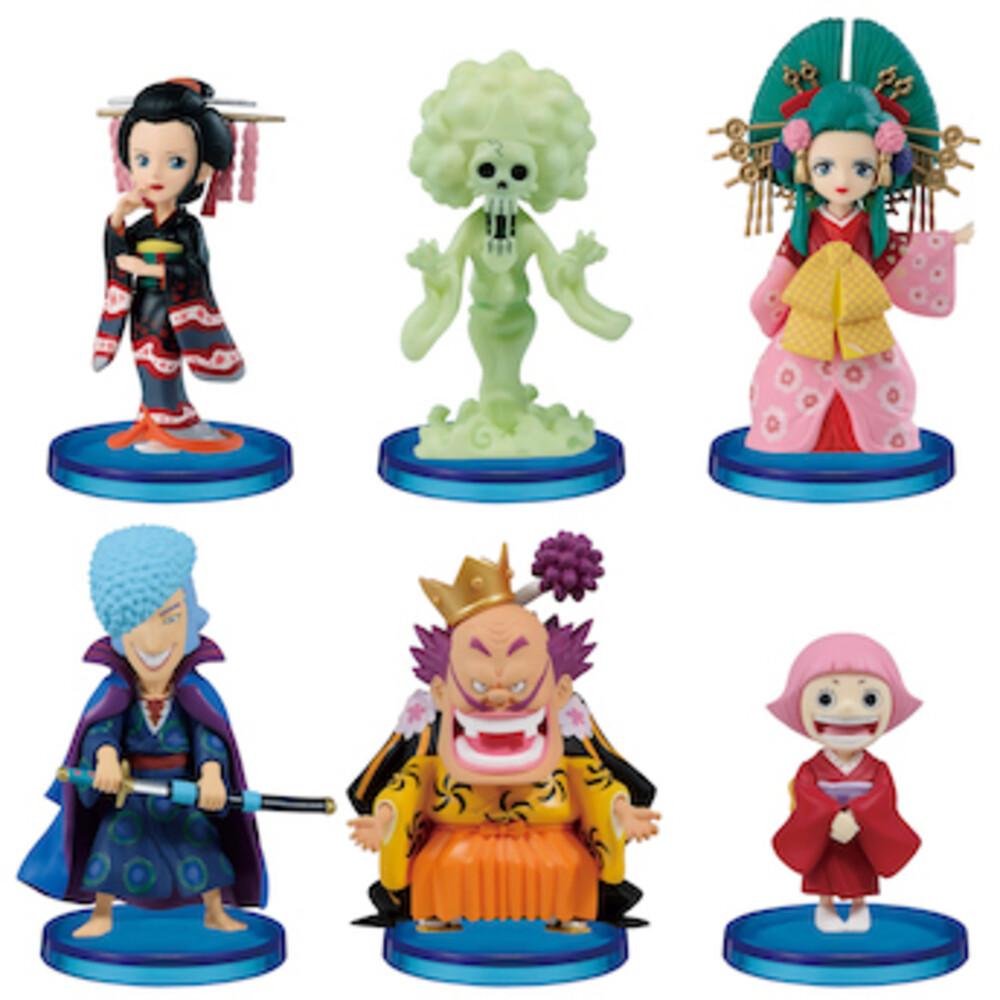Banpresto - BanPresto - One Piece World Wanokuni6 Collectible Figure (One AssortedFigure)